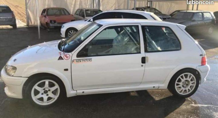 Peugeot 106 rally A6 185cv
