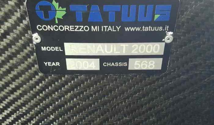 Tatuus evo 2008 ech possible
