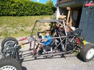 Monoplace autocross super buggy à terminer