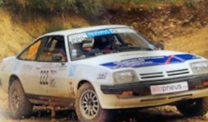 Opel manta b 2.0 rallye terre