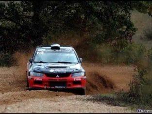 Mitsubishi evo 9 top A8 asphalte/terre