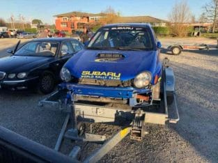 Subaru sti groupe n