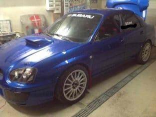 Subaru Prodrive grA (moteur revise)