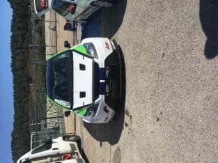 Ford focus rs piste