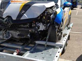 Clio 5 Cup 2020 à réparer