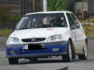 Citroën saxo 3/9 rallye