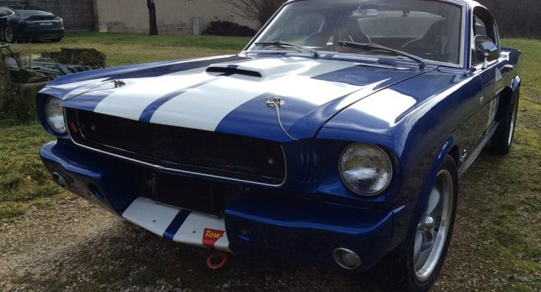 ford mustang fastback 1965 prépa shelby gt350r