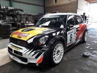 BMW MINI JOHN COOPER WORKS WRC PRODRIVE ECHANGE R